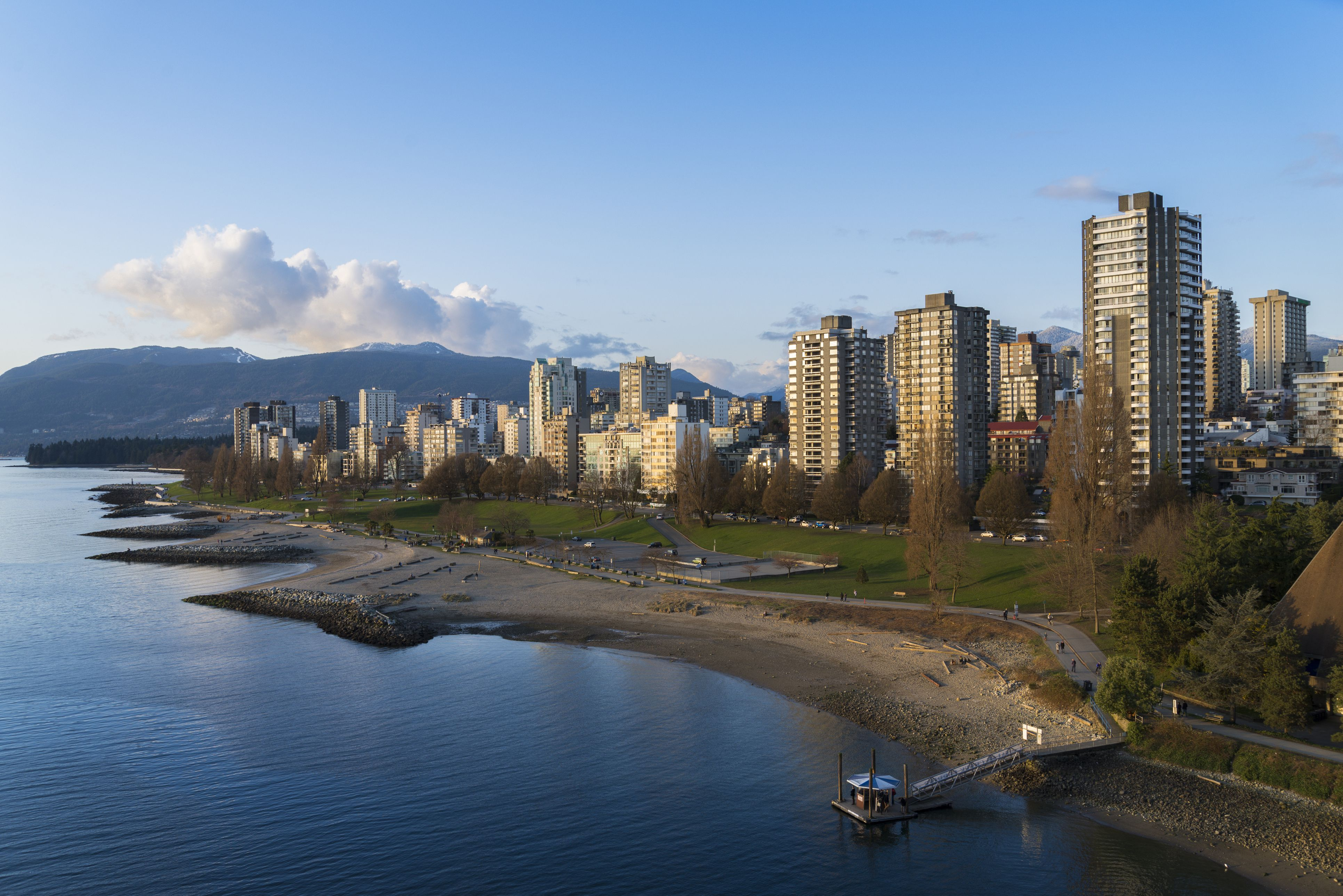 Sunset Beach, English Bay and West End, Vancouver, British Columbia, Canada