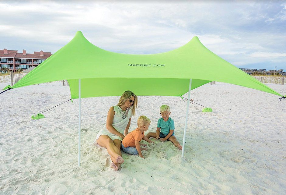 Runner Up Best Overall Mad Grit Portable Beach Shade