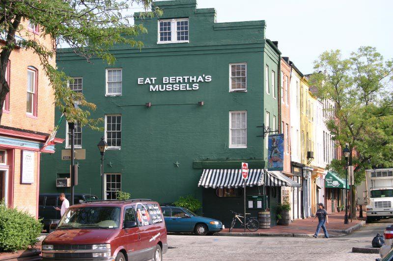 Bertha's Restaurant in Baltimore