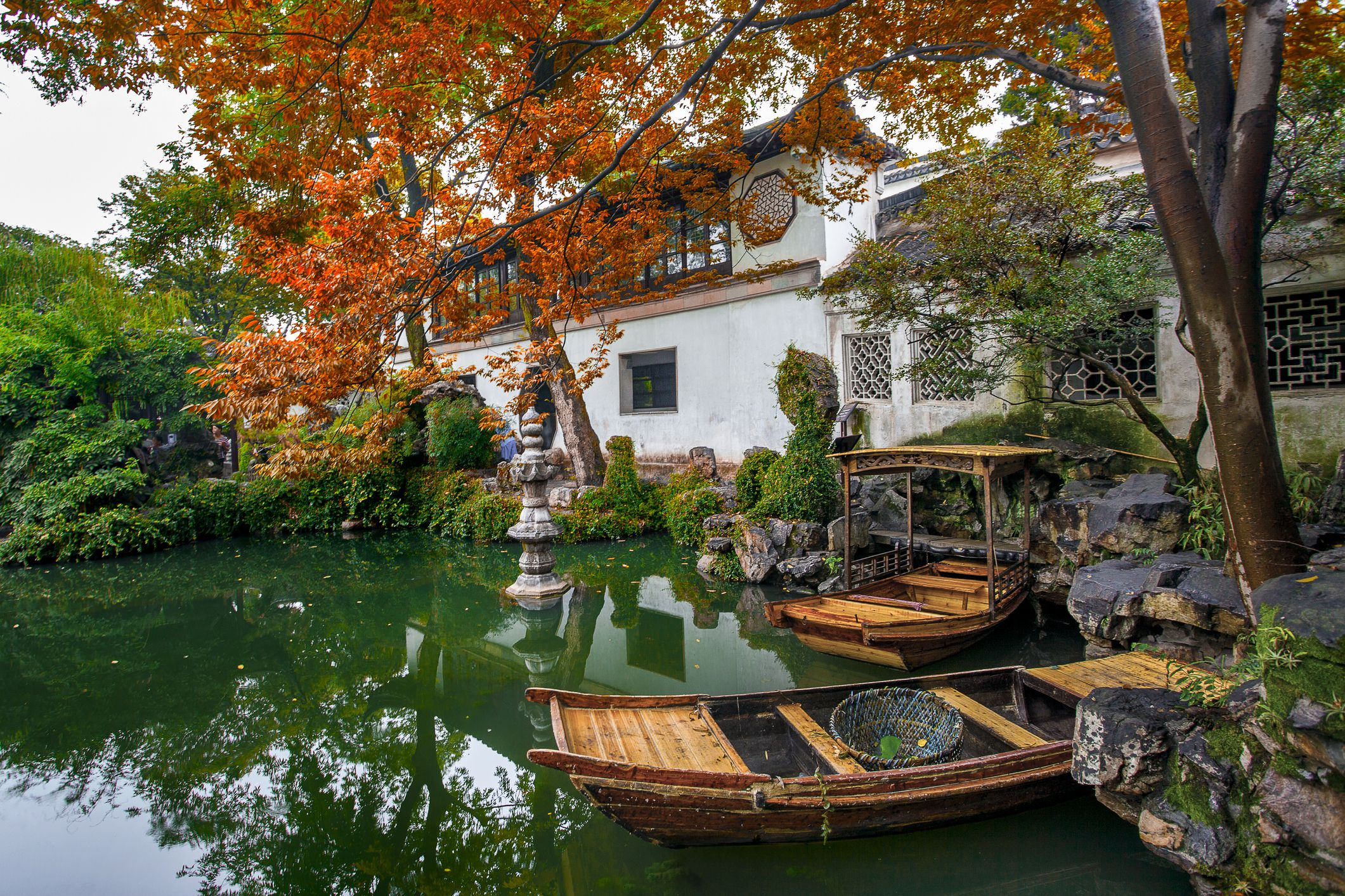 Jardín persistente, Suzhou, Jiangsu, China