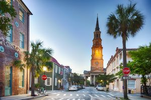 Charleston, South Carolina In The Evening