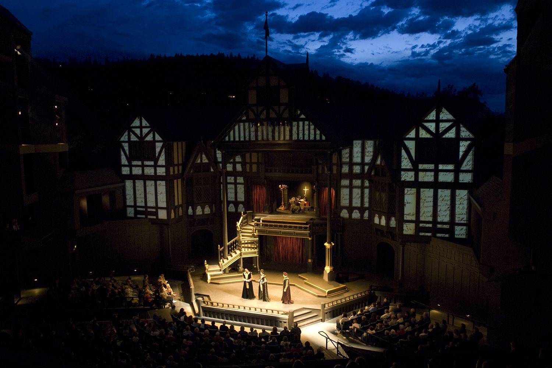 Allen Elizabethan Theatre at the Oregon Shakespeare Festival