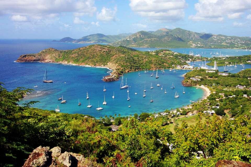 View of St. Martin / St. Maarten