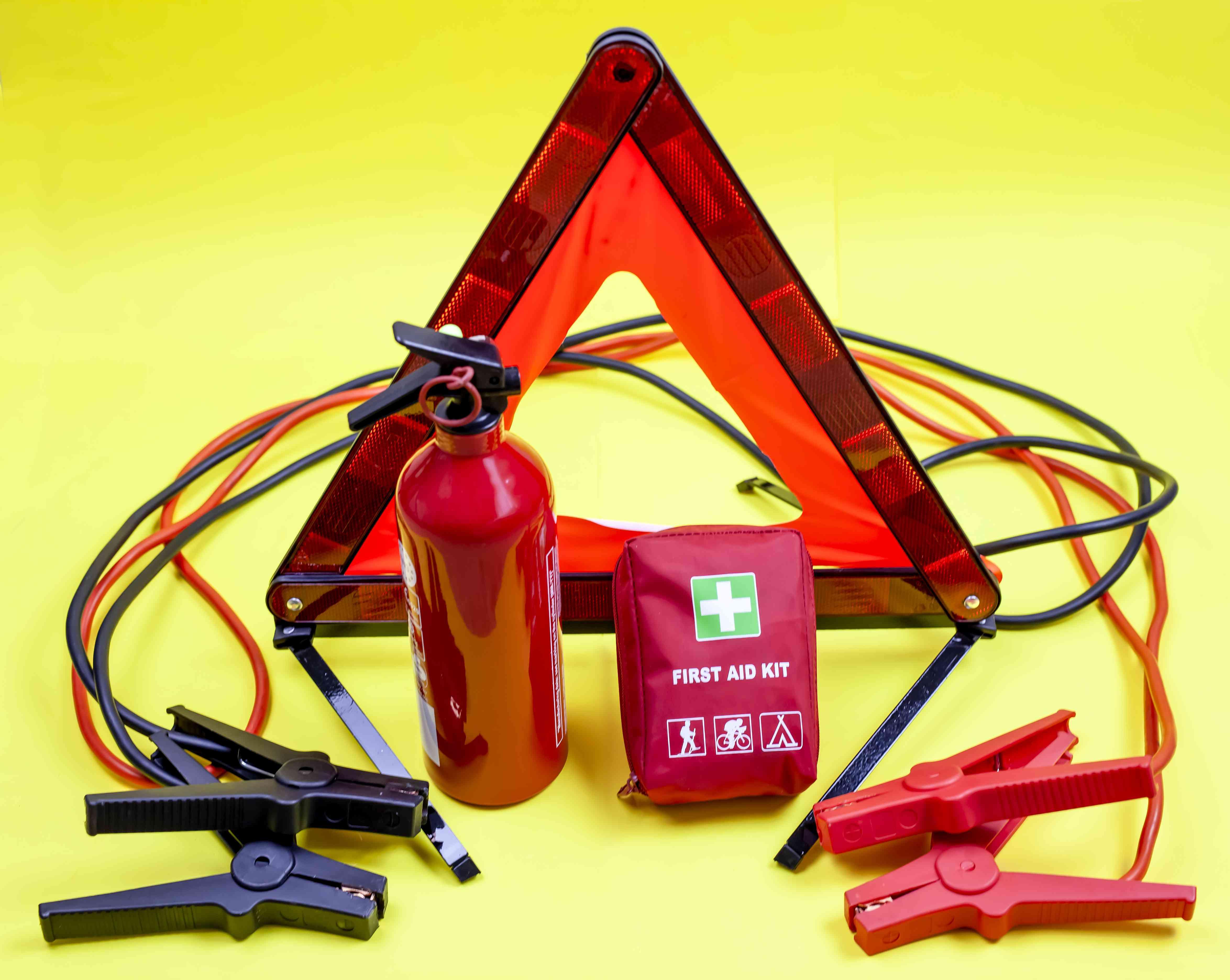 Kit de accidentes y averías para vehículo