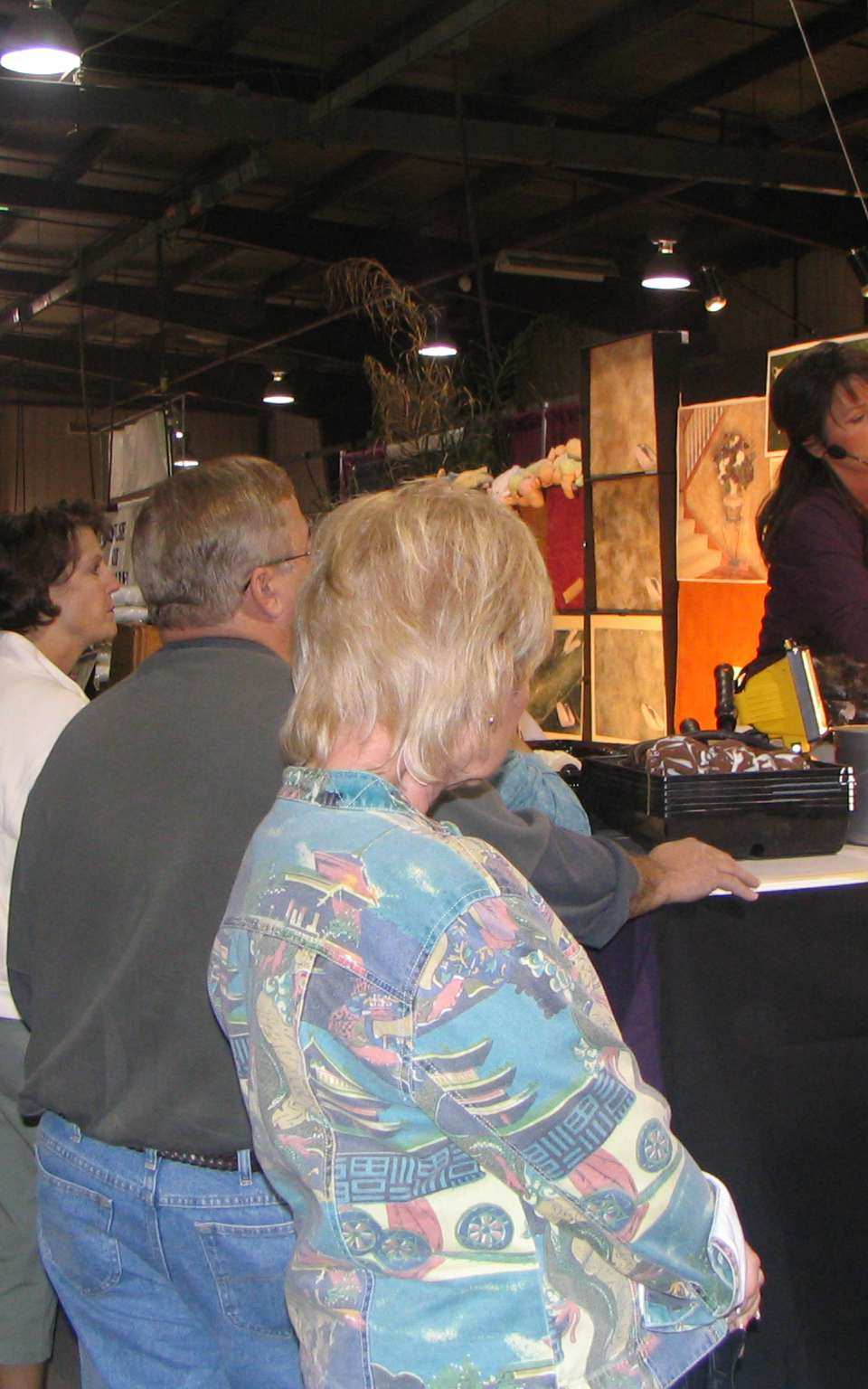 At the Maricopa County Home and Garden Show