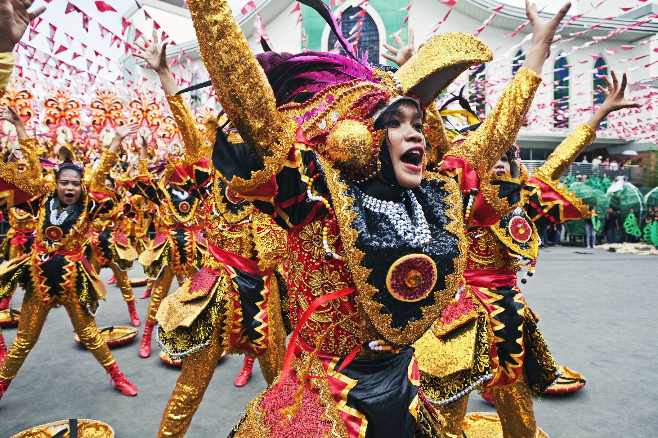 Kadayawan dancer in Davao City