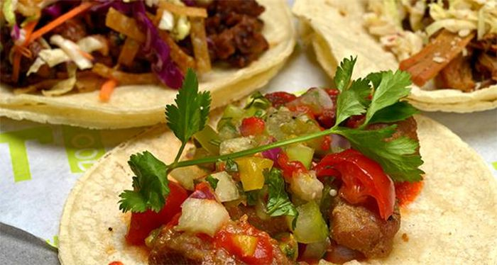 Tacos from TLT Food