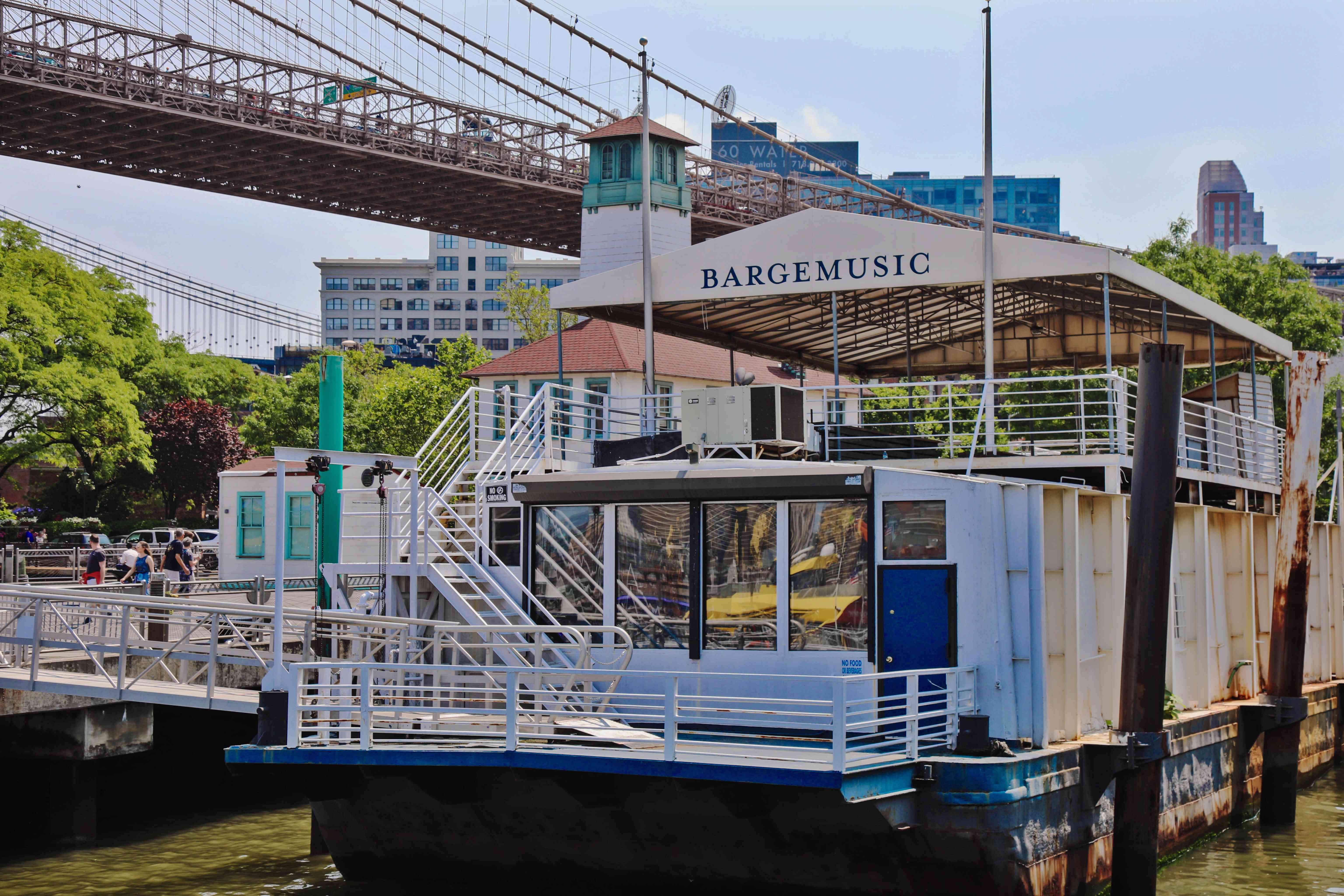 Barge Music venue