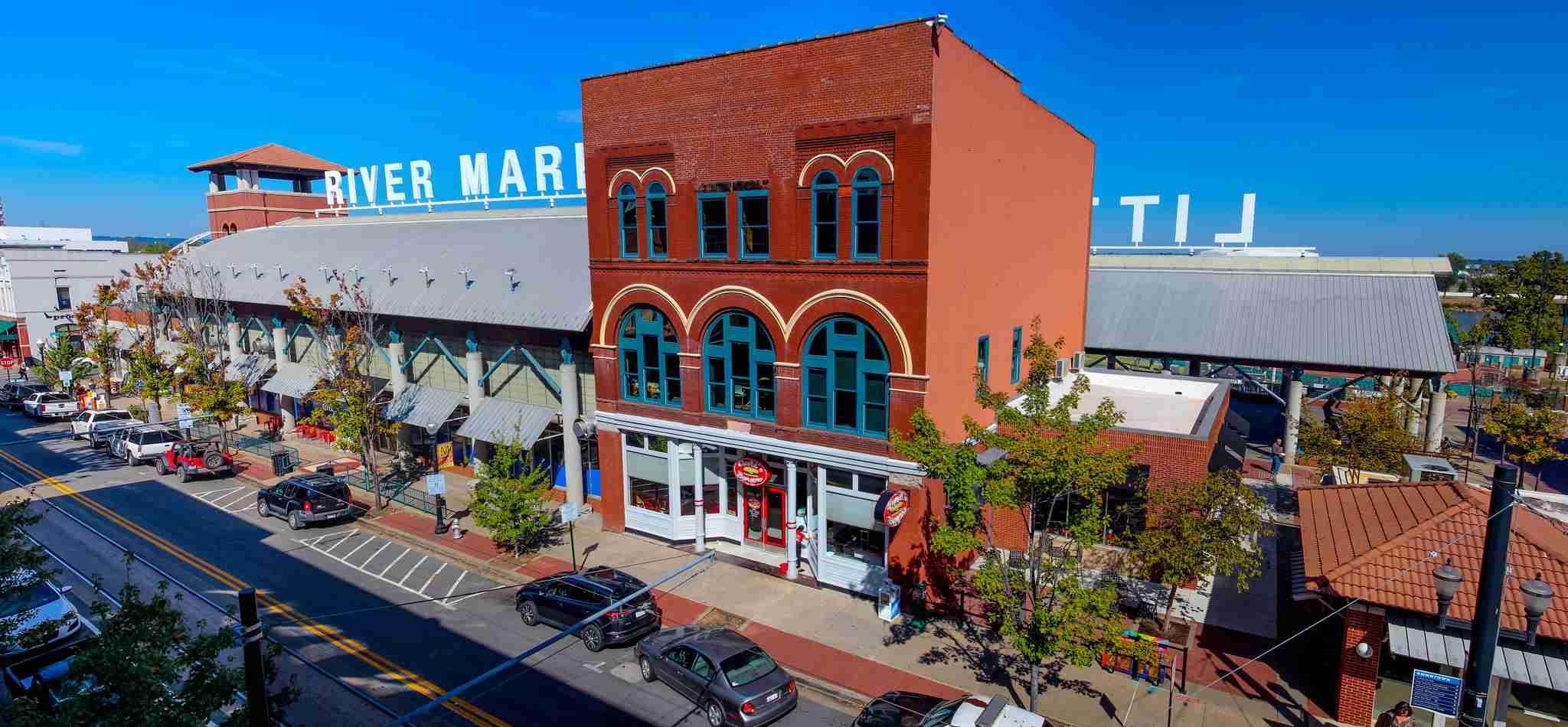 River Market Pavilion Little Rock, Arkansas