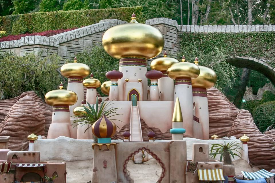 City of Agrabah on Storybook Land Canal Boats