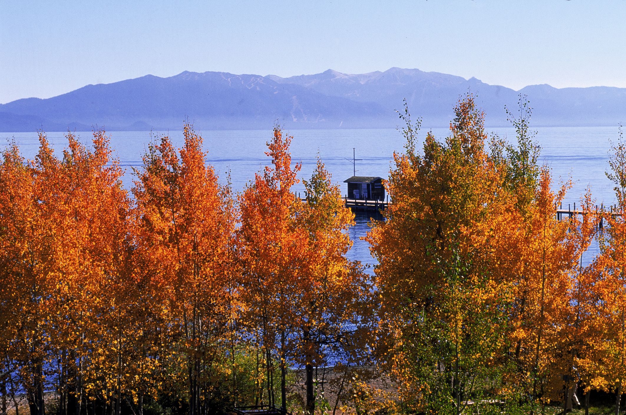 Lake Tahoe in the Fall