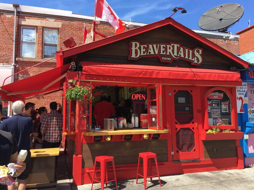 Beavertails in Ottawa in Canada