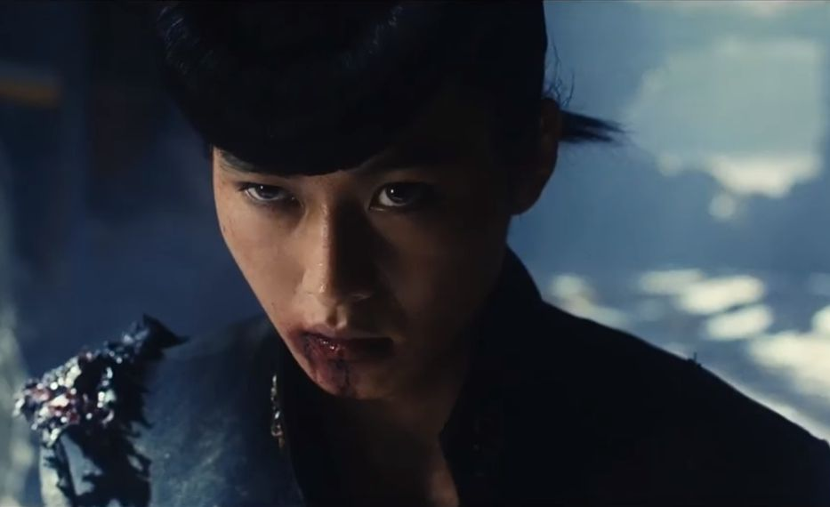 "Film still of Takashi Miike's ""JoJo's Bizarre Adventure: Diamond Is Unbreakable - Chapter 1,"" shown at Fantasia Film Festival, Montreal, QC"