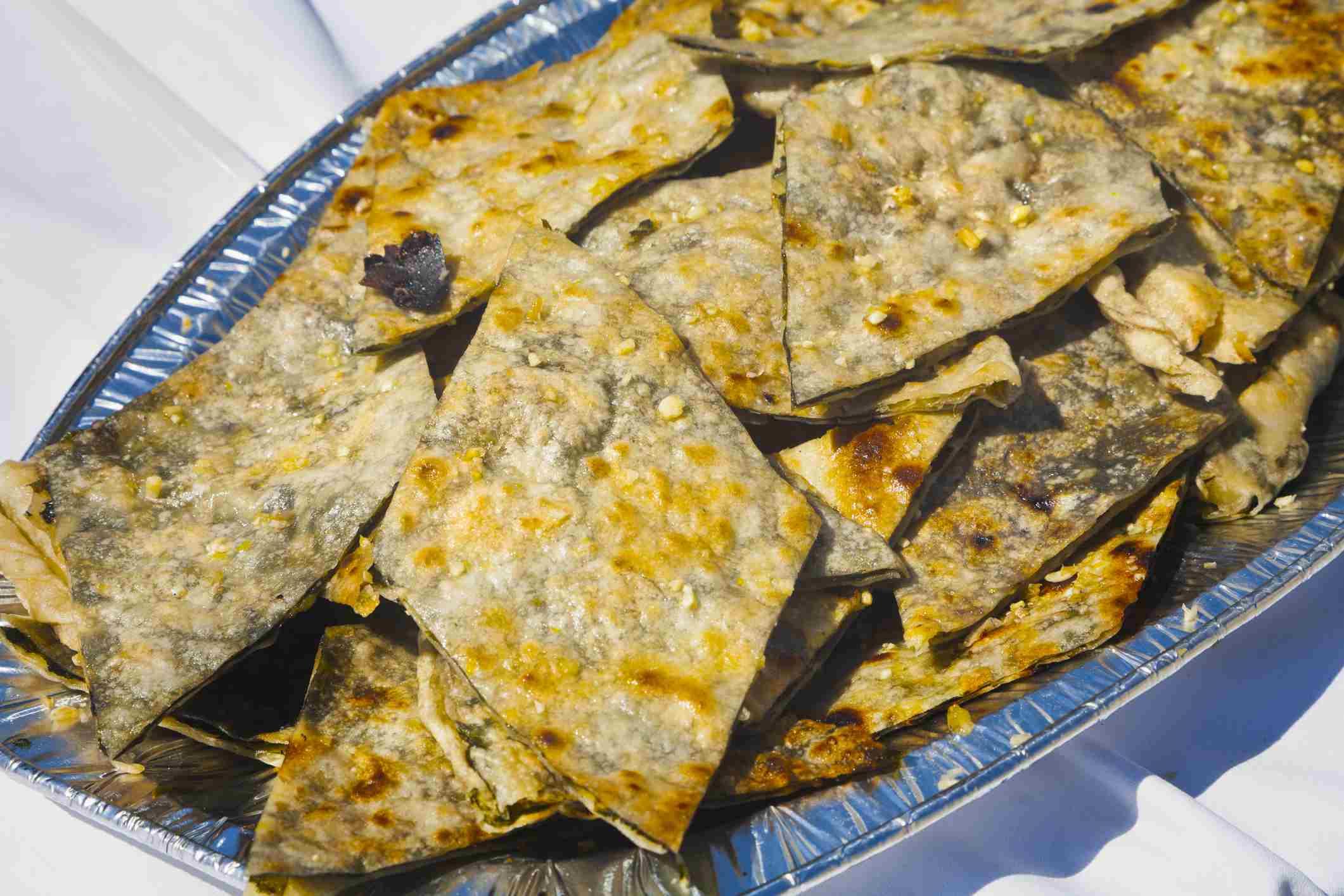 Soparnik, traditional Dalmatian dish, Split, Central Dalmatia, Croatia