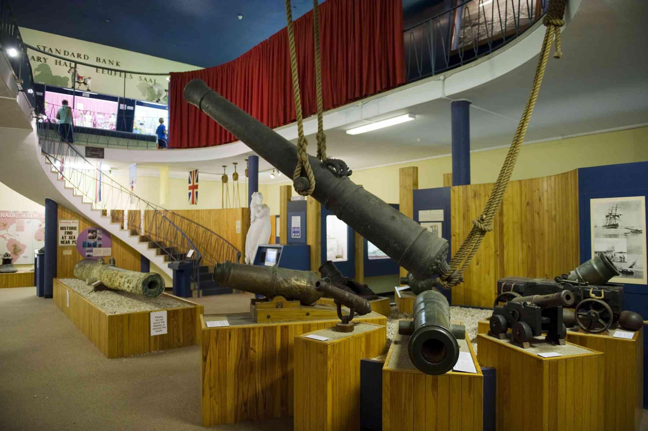 Portuguese Cannon at Port Elizabeth Museum