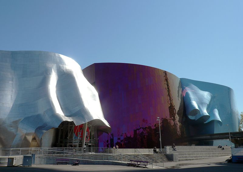 Experience Music Project in Seattle Center