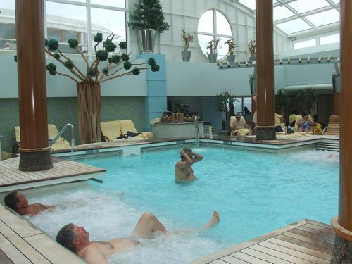 Celebrity Infinity - Thallassotherapy Pool