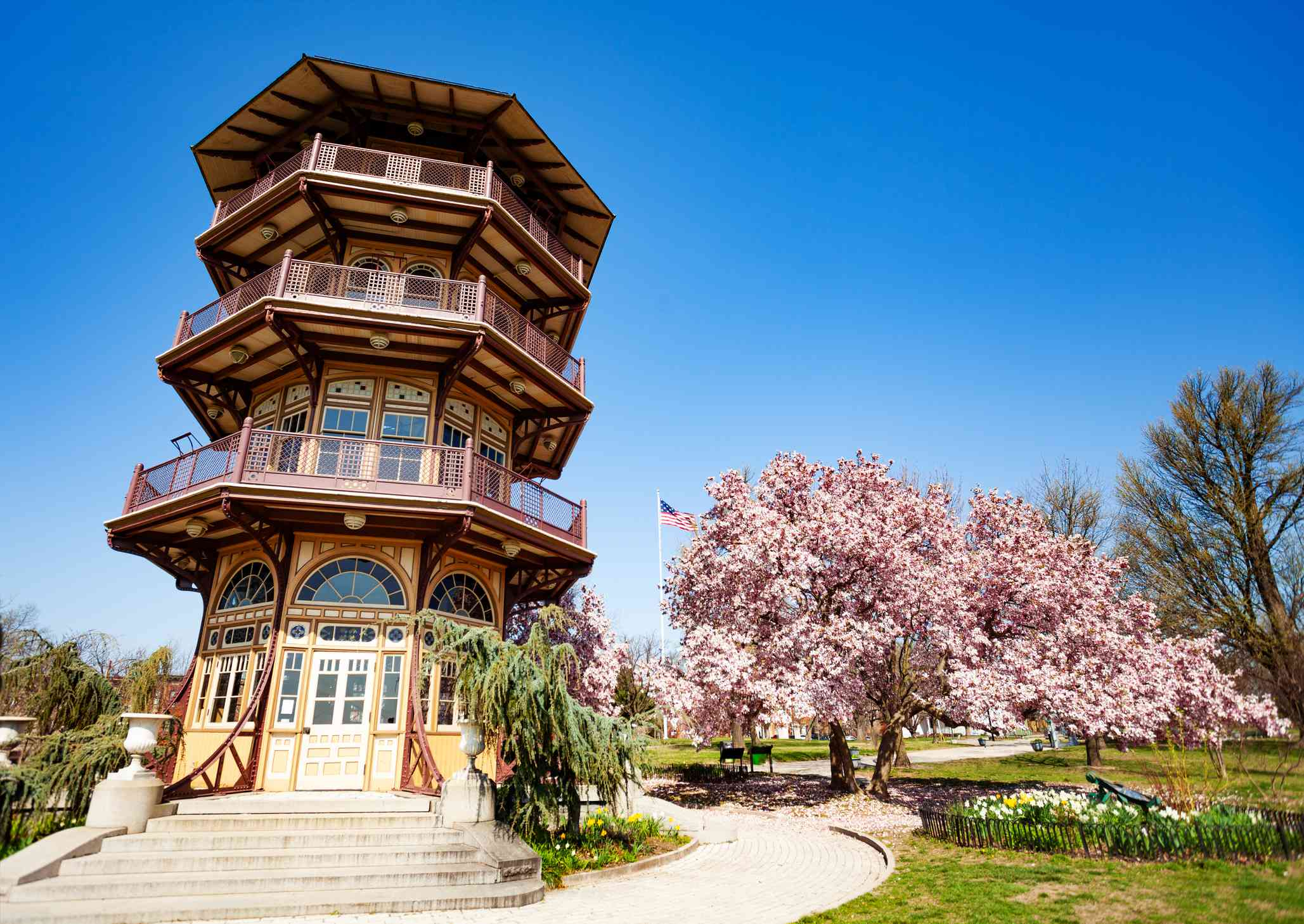 Pagoda Observatory in Patterson Park, Baltimore