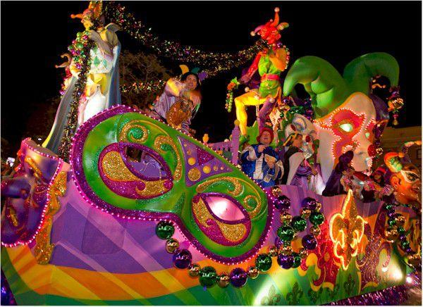Universal Orlando Mardi Gras