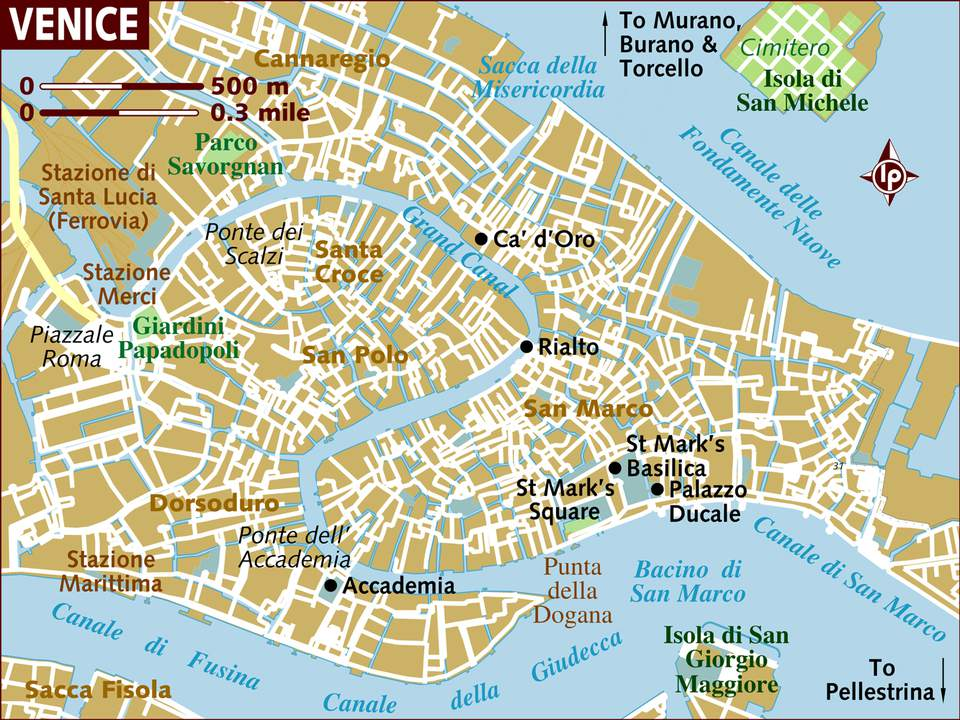 Venice Neighborhoods Sestieri Map And Travel Tips