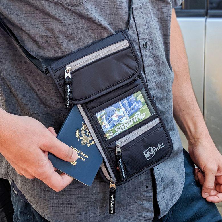 Winks Travel Neck Wallet