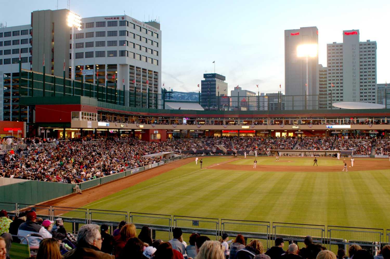 Aces Ballpark, hogar del equipo de béisbol Reno Aces Triple-A