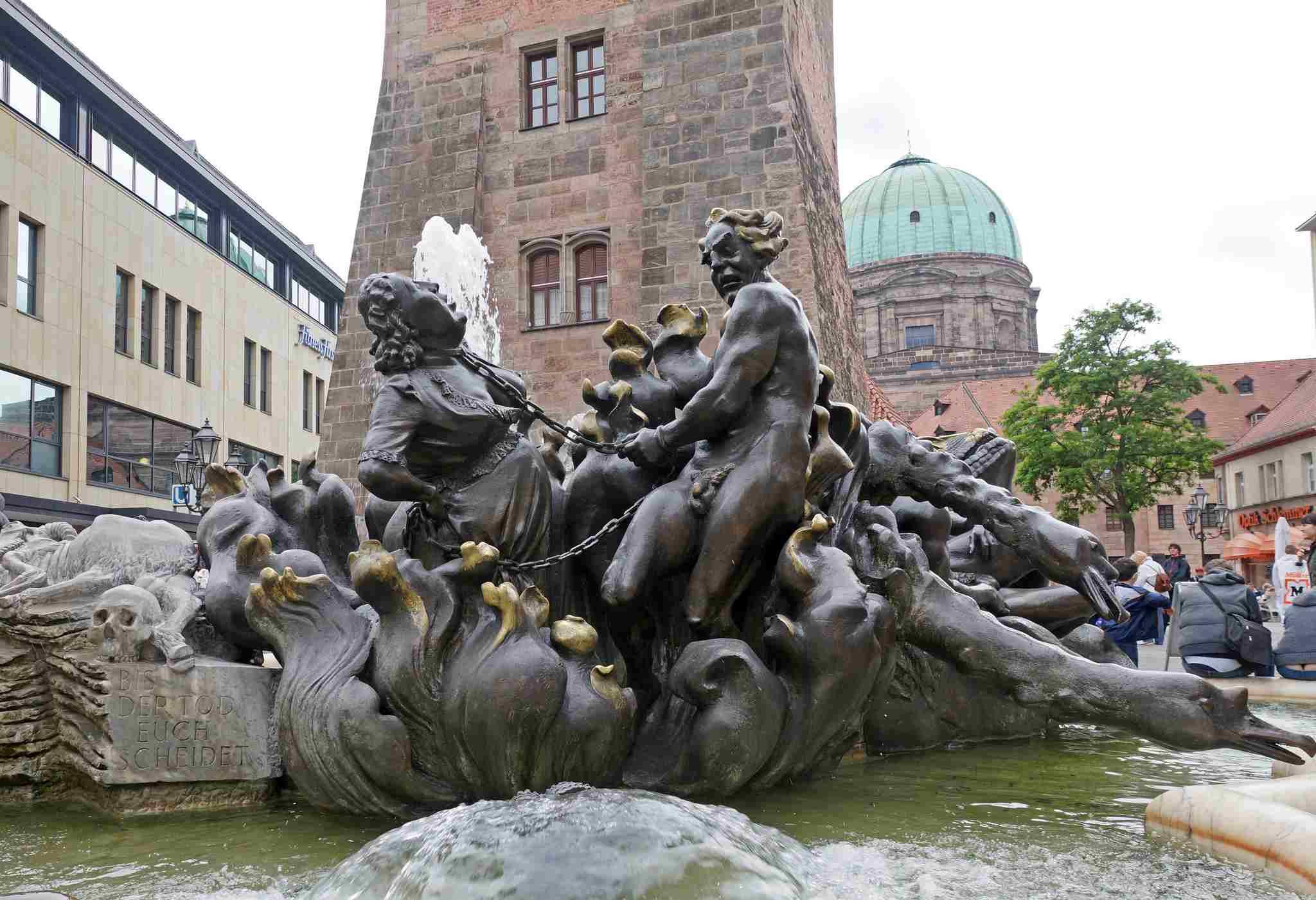 Ehekarussell in Nuremberg
