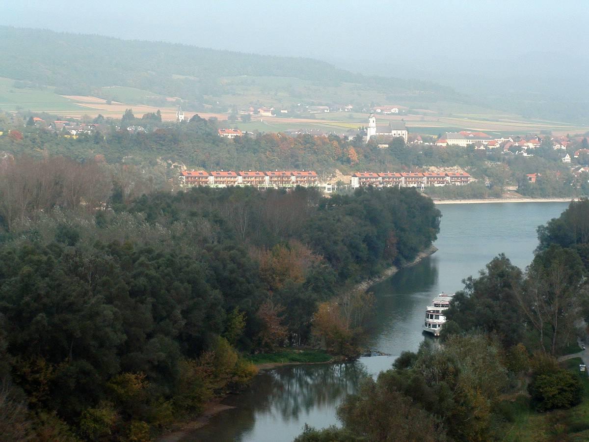Danube River near Melk, Austria