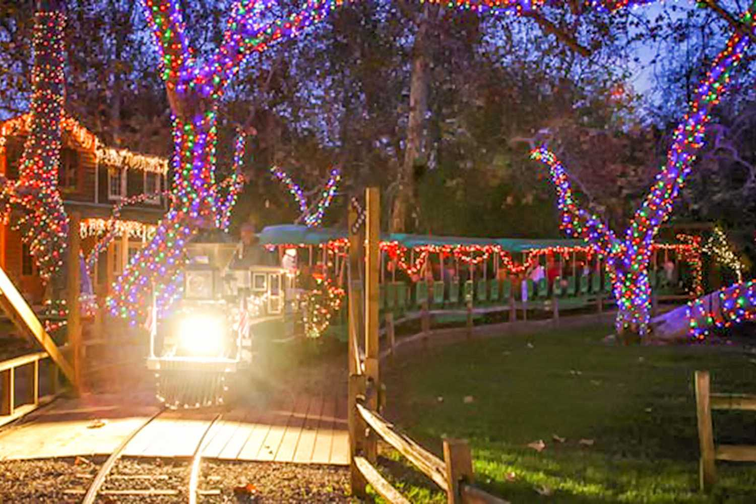 things to do for christmas in orange county - Balboa Park Christmas Lights