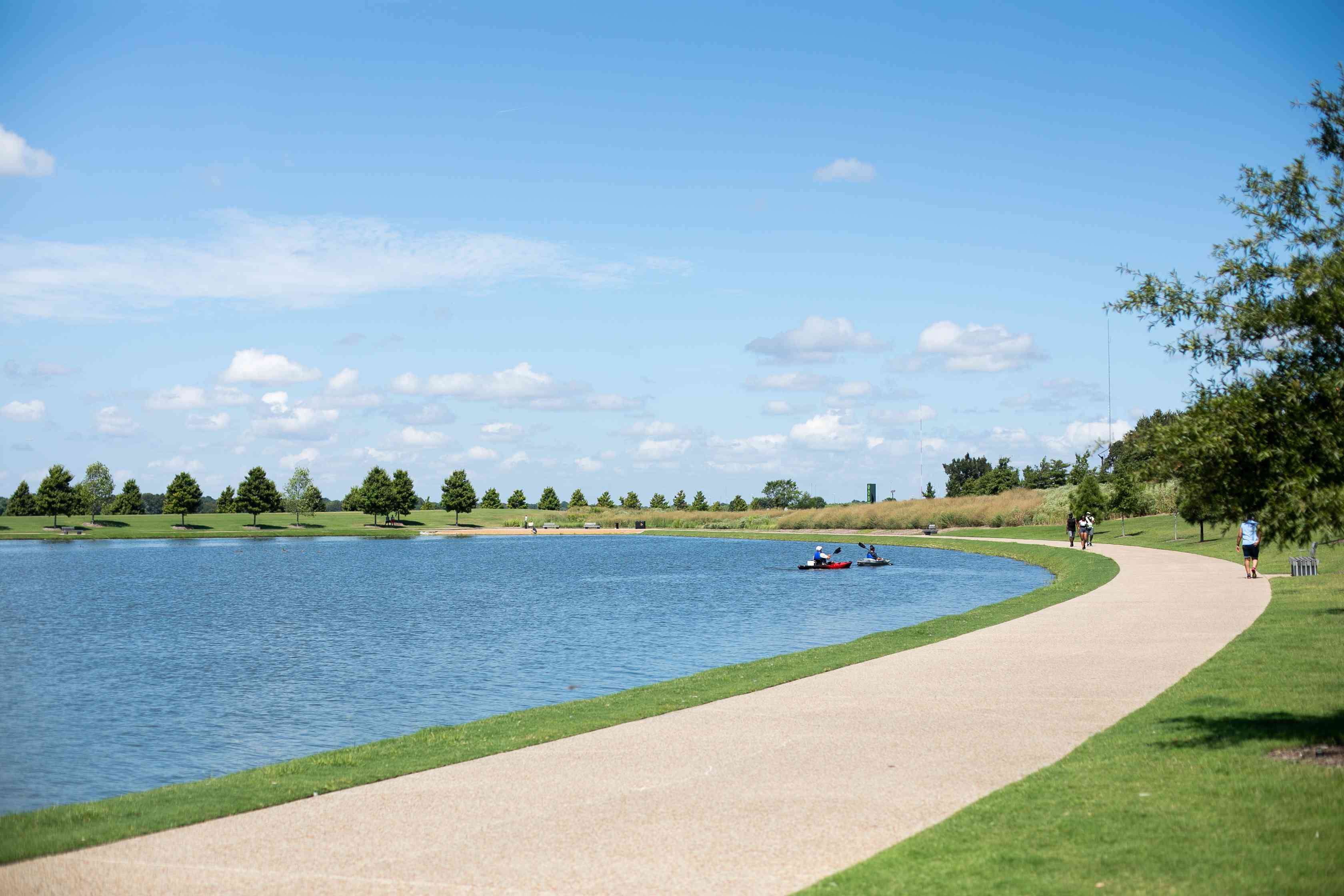 Shelby Farms Park in Memphis, Tennessee