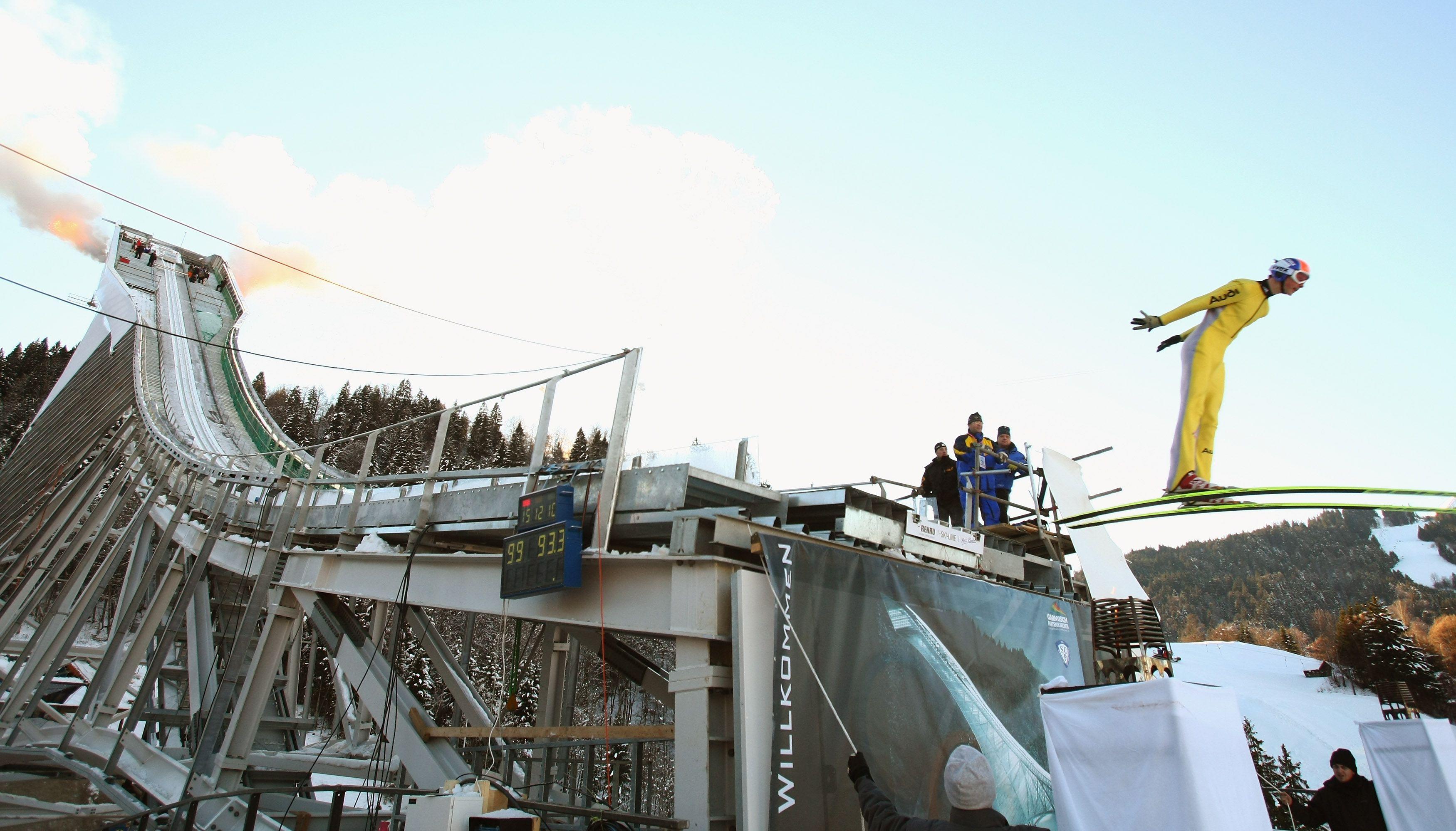 Olympic Ski Jump Garmisch-Partenkirchen