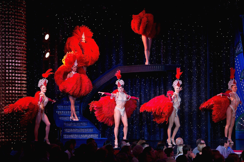 Moulin Rouge cabaret in Paris