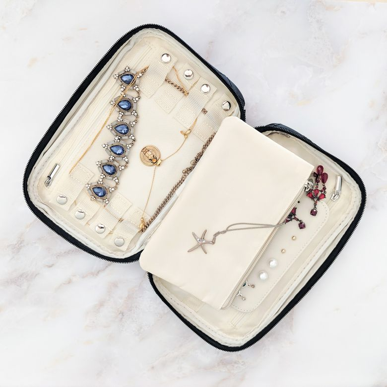 Ellis James Designs Travel Jewelry Bag