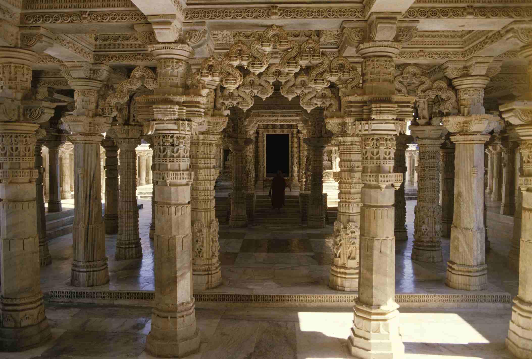 Jain temples at Mount Abu.