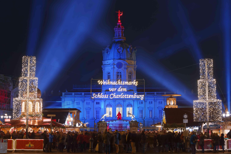 The Schloss Charlottenburg Christmas Market.