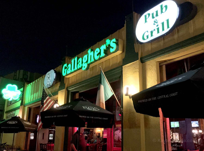 Gallagher's Irish Pub and Grill in Long Beach, CA