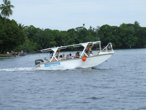 Tour Boat at Madang, Papua New Guinea