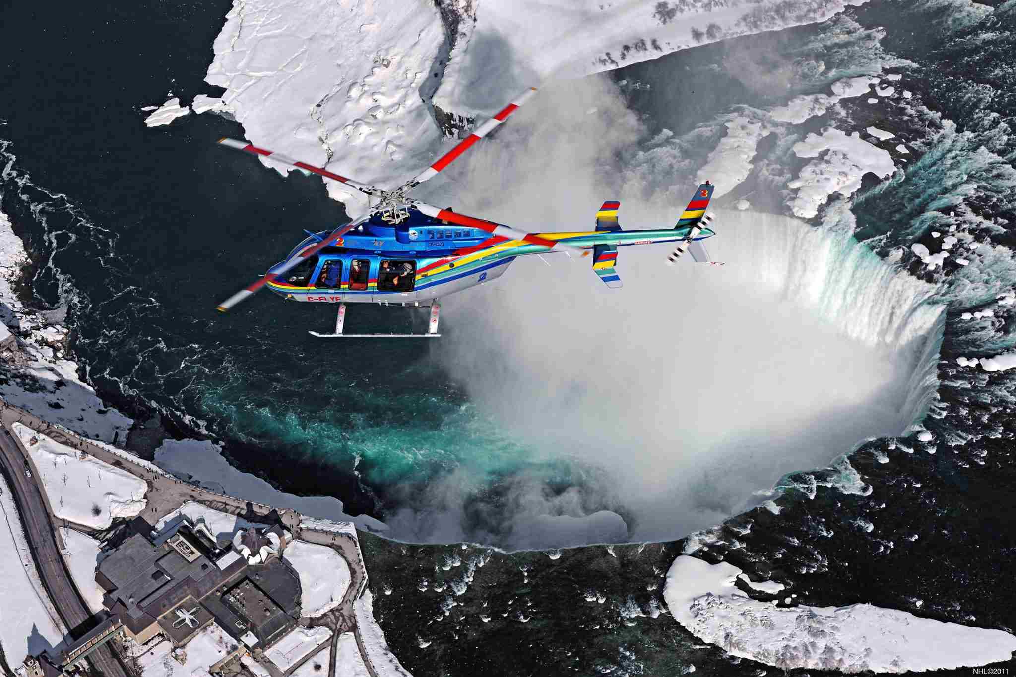 Niagara Helicopter Tours, Niagara Falls, Canada