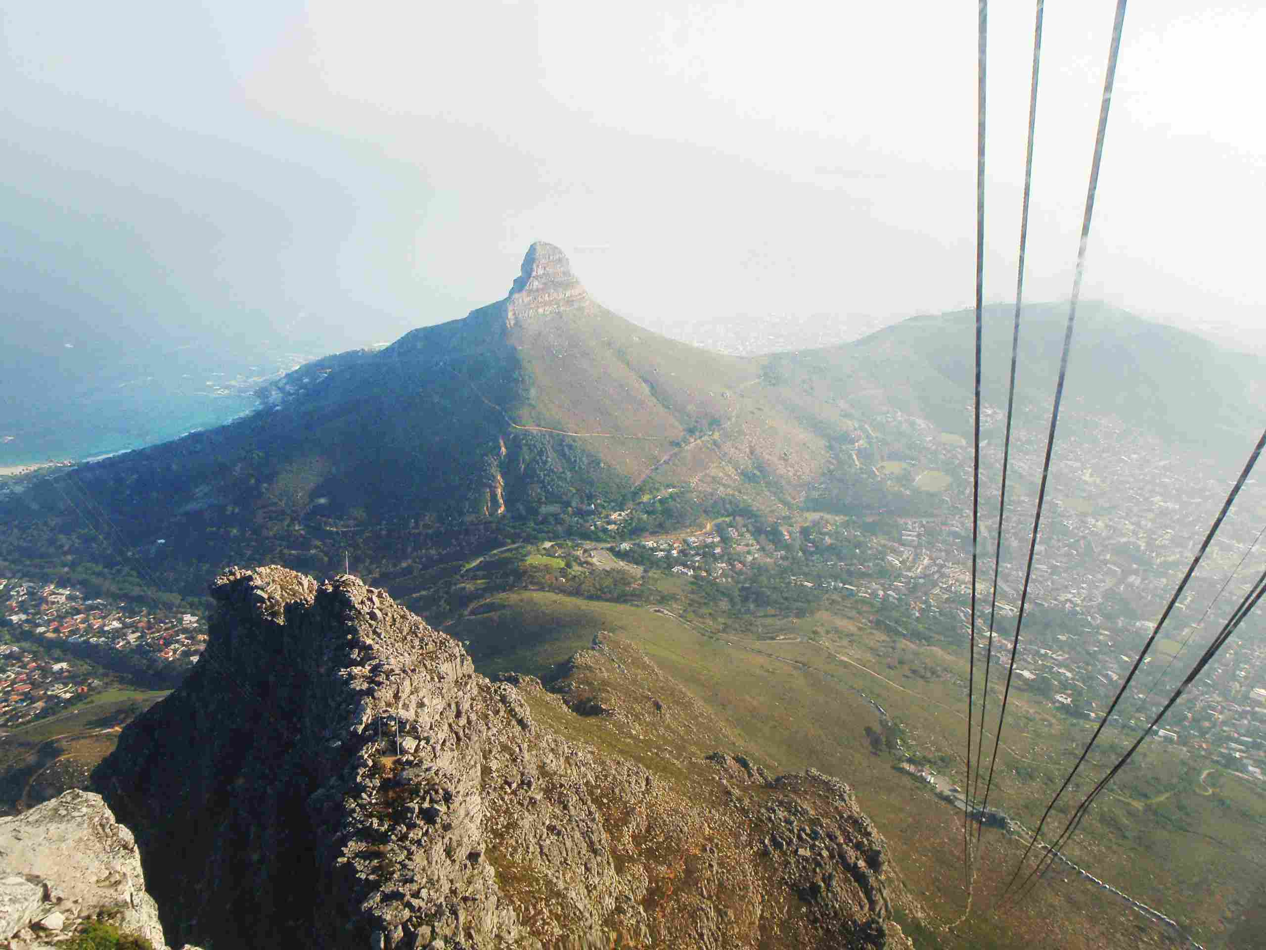Cable car to the top of boulder mountain