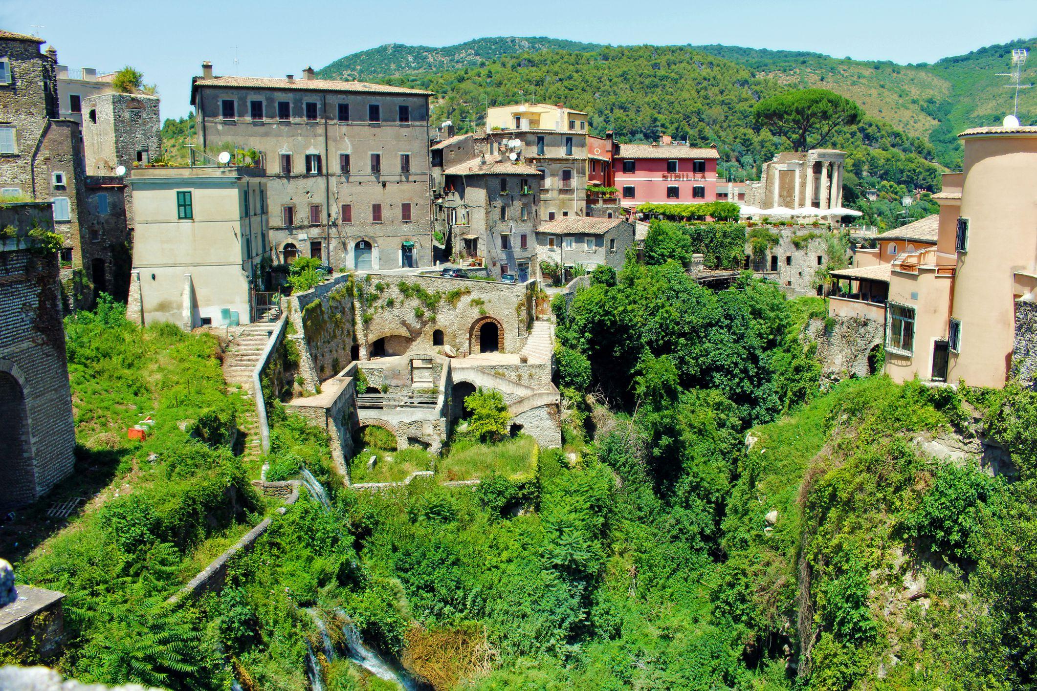 Villa d'Este in Italy.