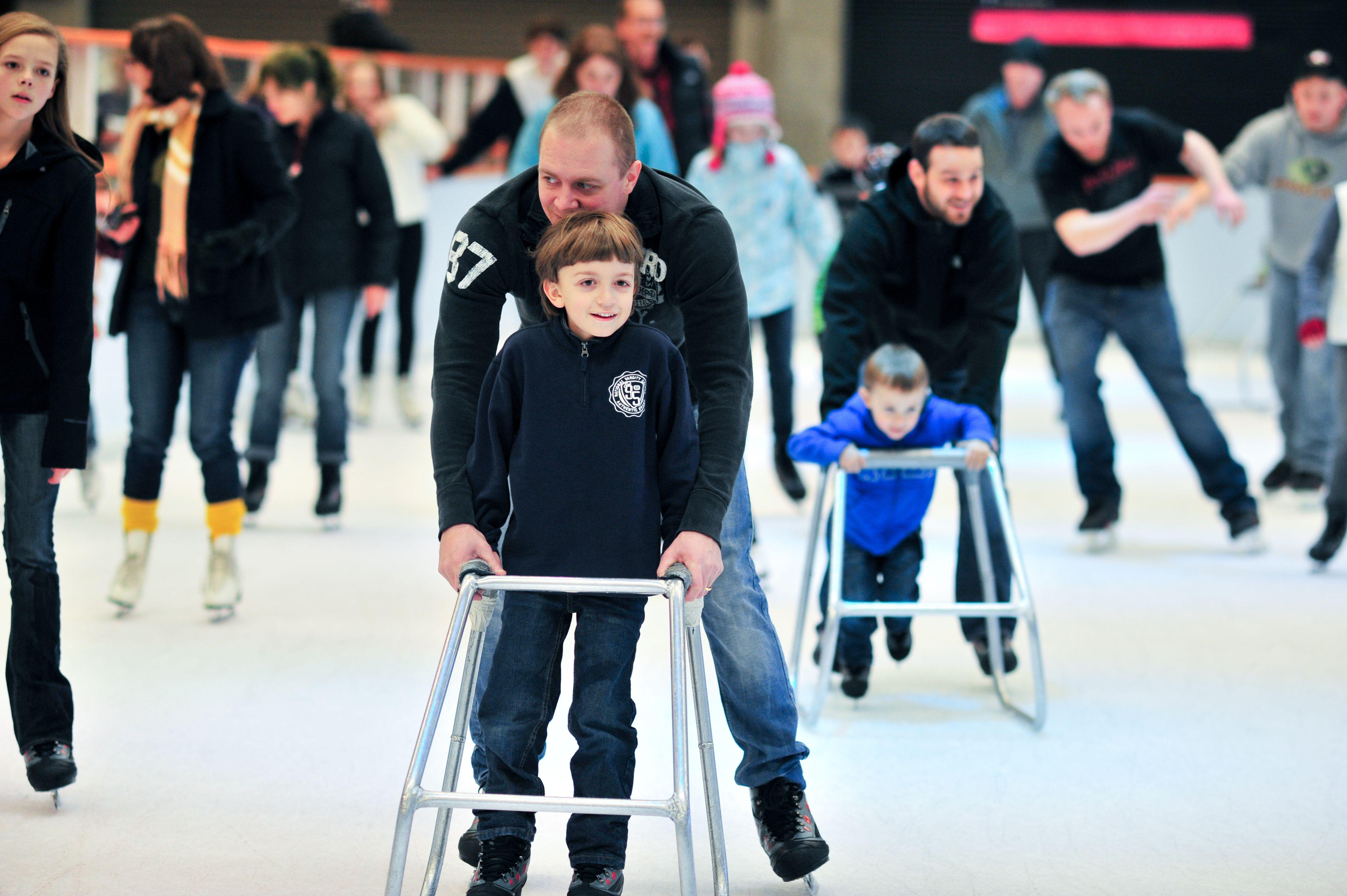 Pista de patinaje sobre hielo Winterfest