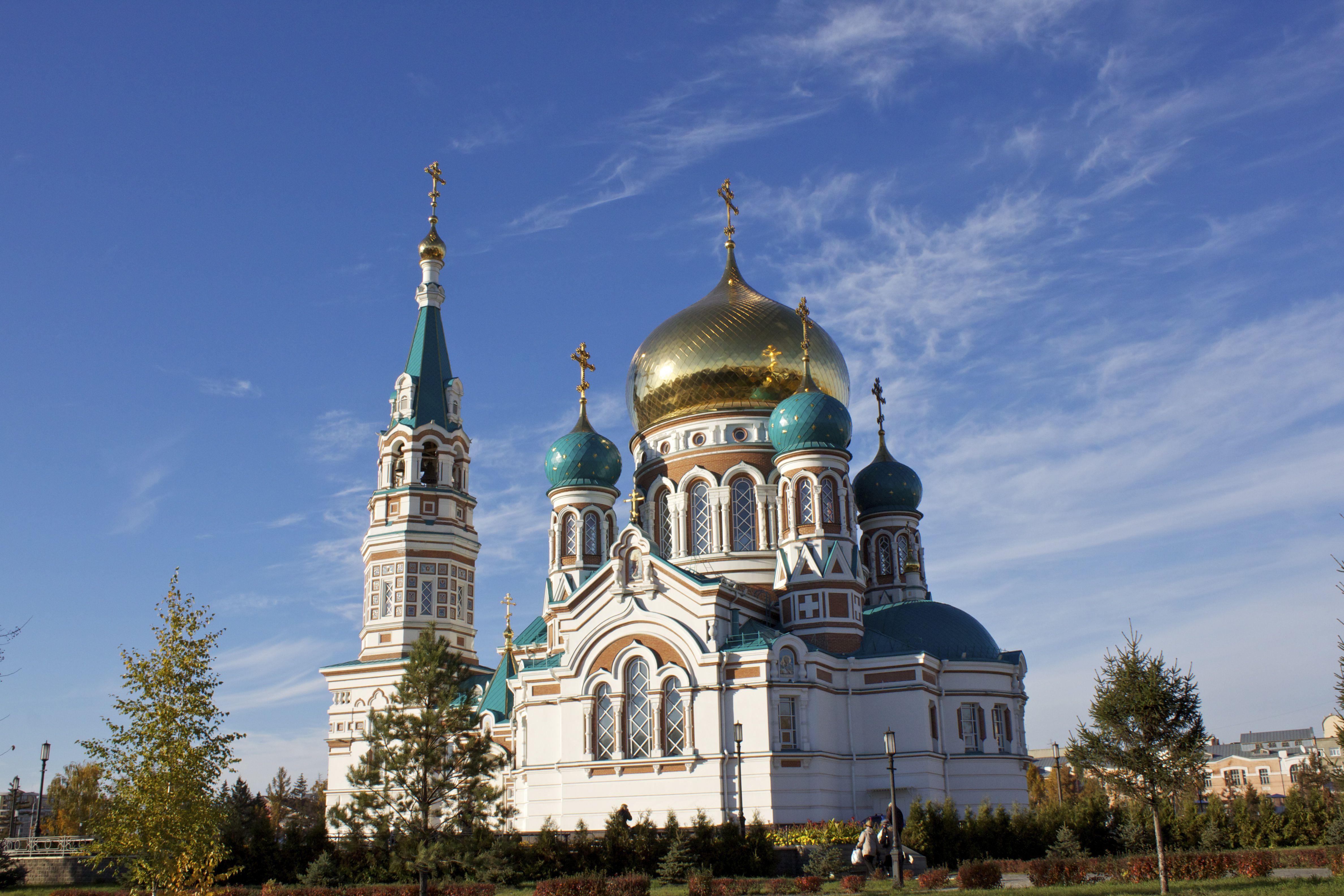 Assumption or Dormition Cathedral omsk