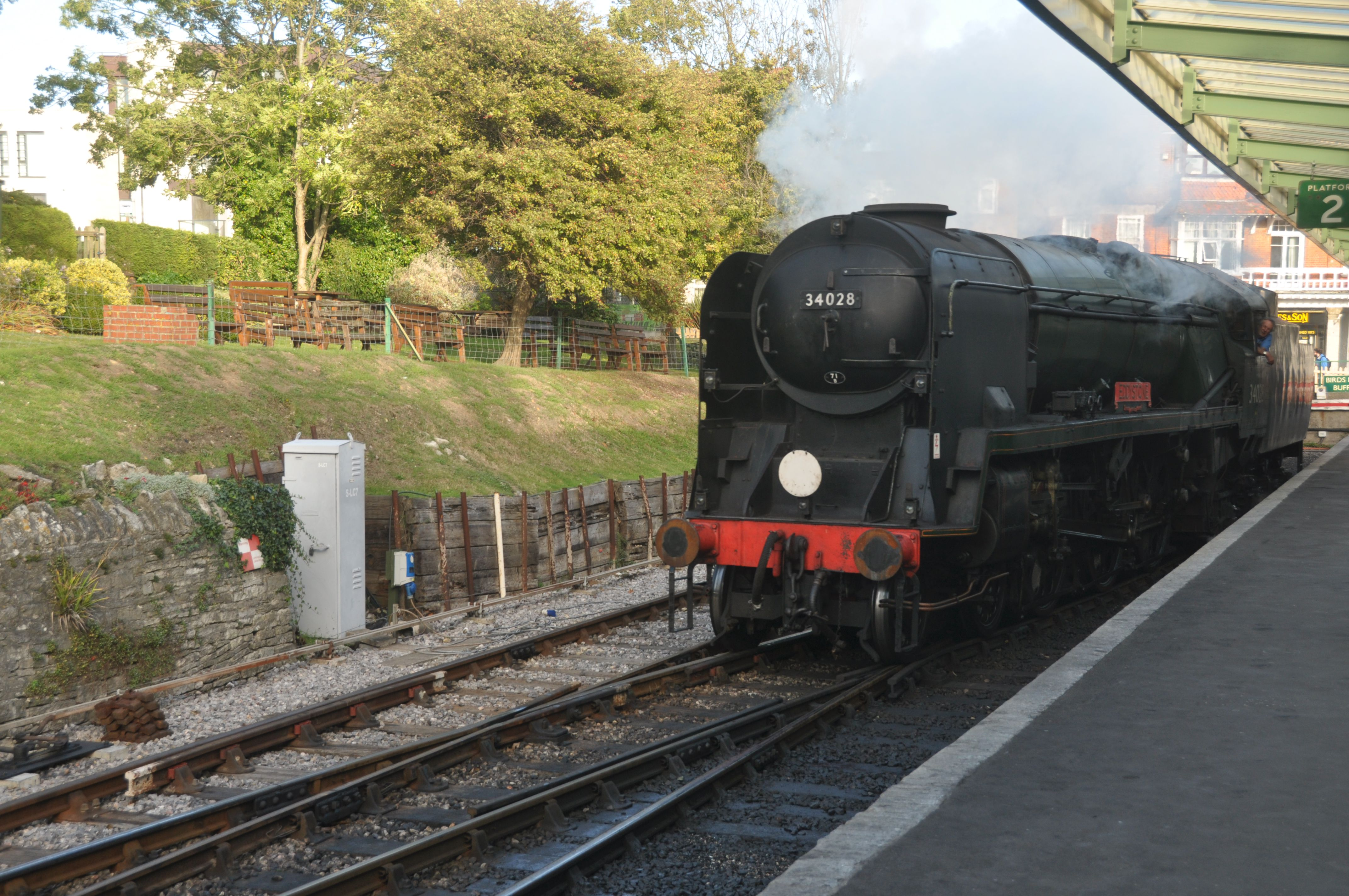 Steam Trains and Heritage Railways in England's West Country