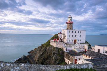 Ireland, County Dublin, Howth, Baily Lighthouse