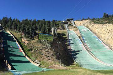 Utah Olympic Park zipline field