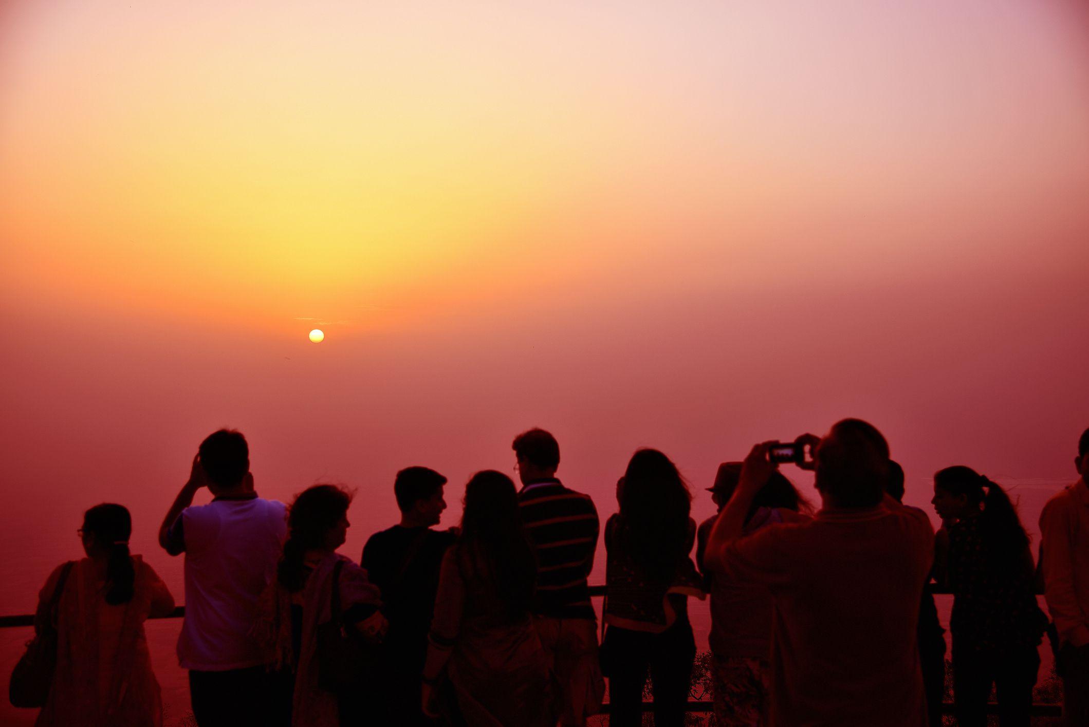 Sunset point, Mount Abu.