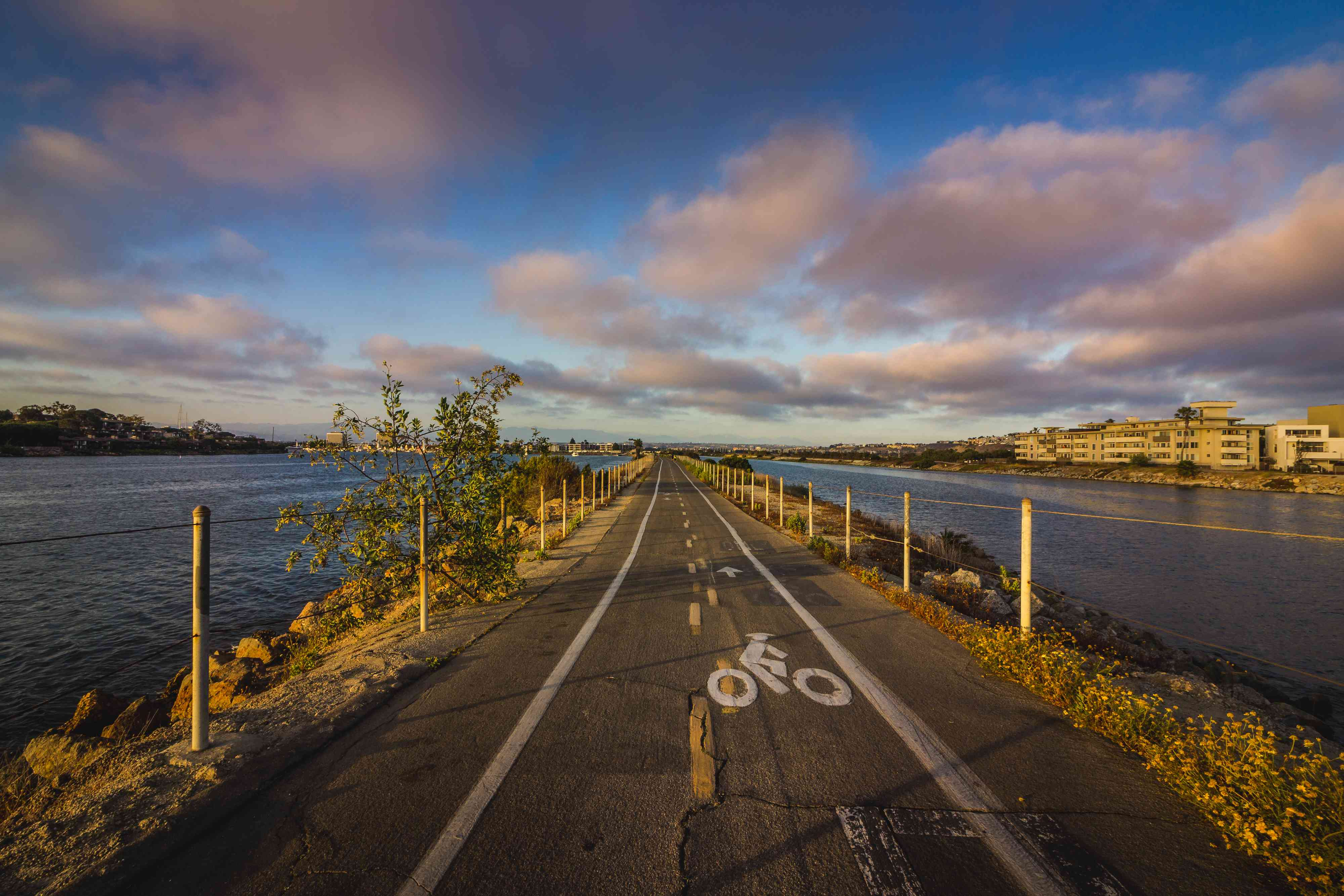 Ballona Creek Bike Path