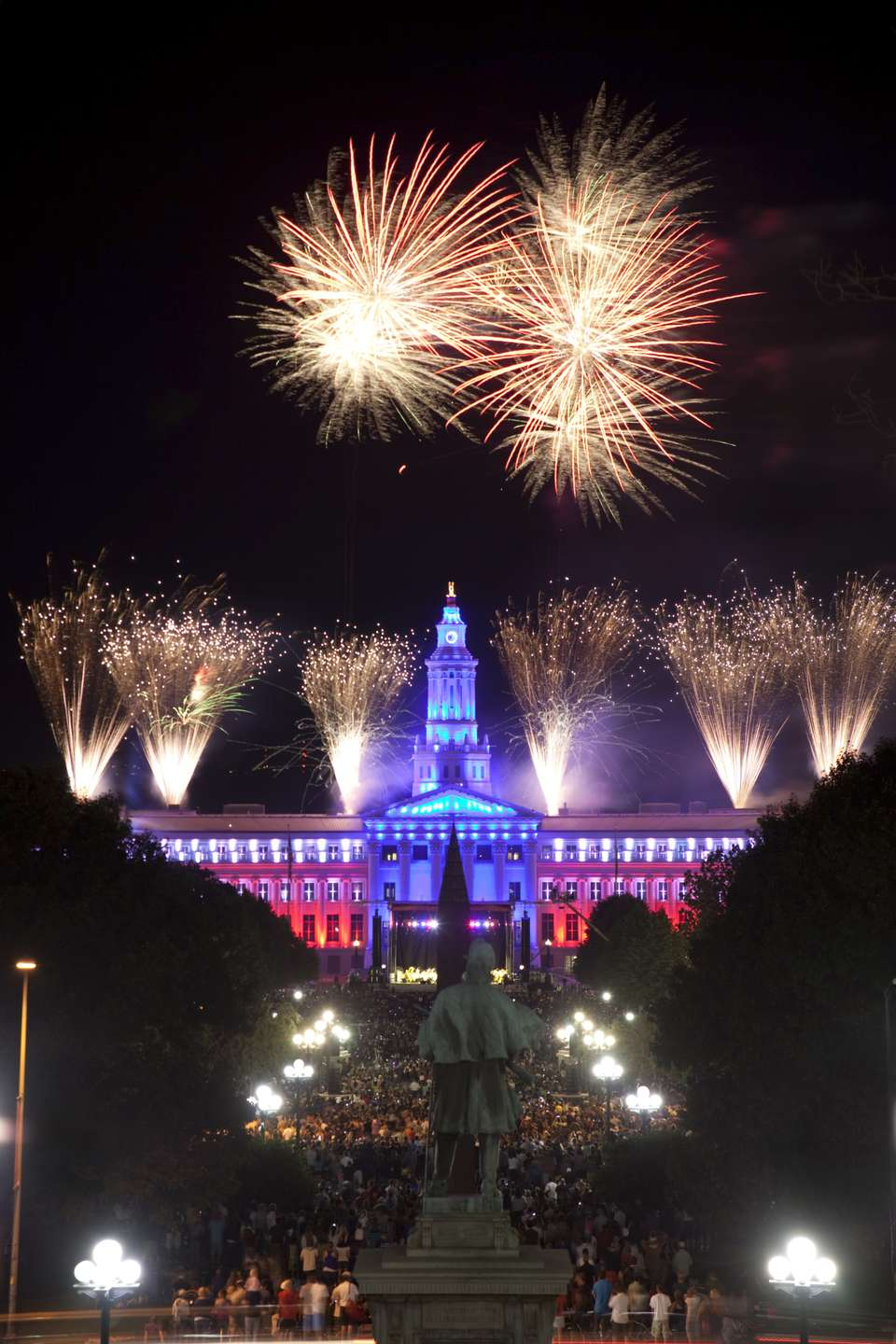 Fireworks in Denver