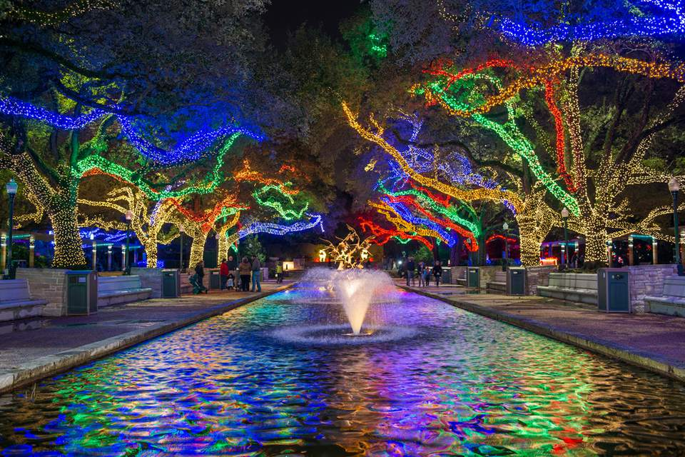 Luces del zoológico de Houston