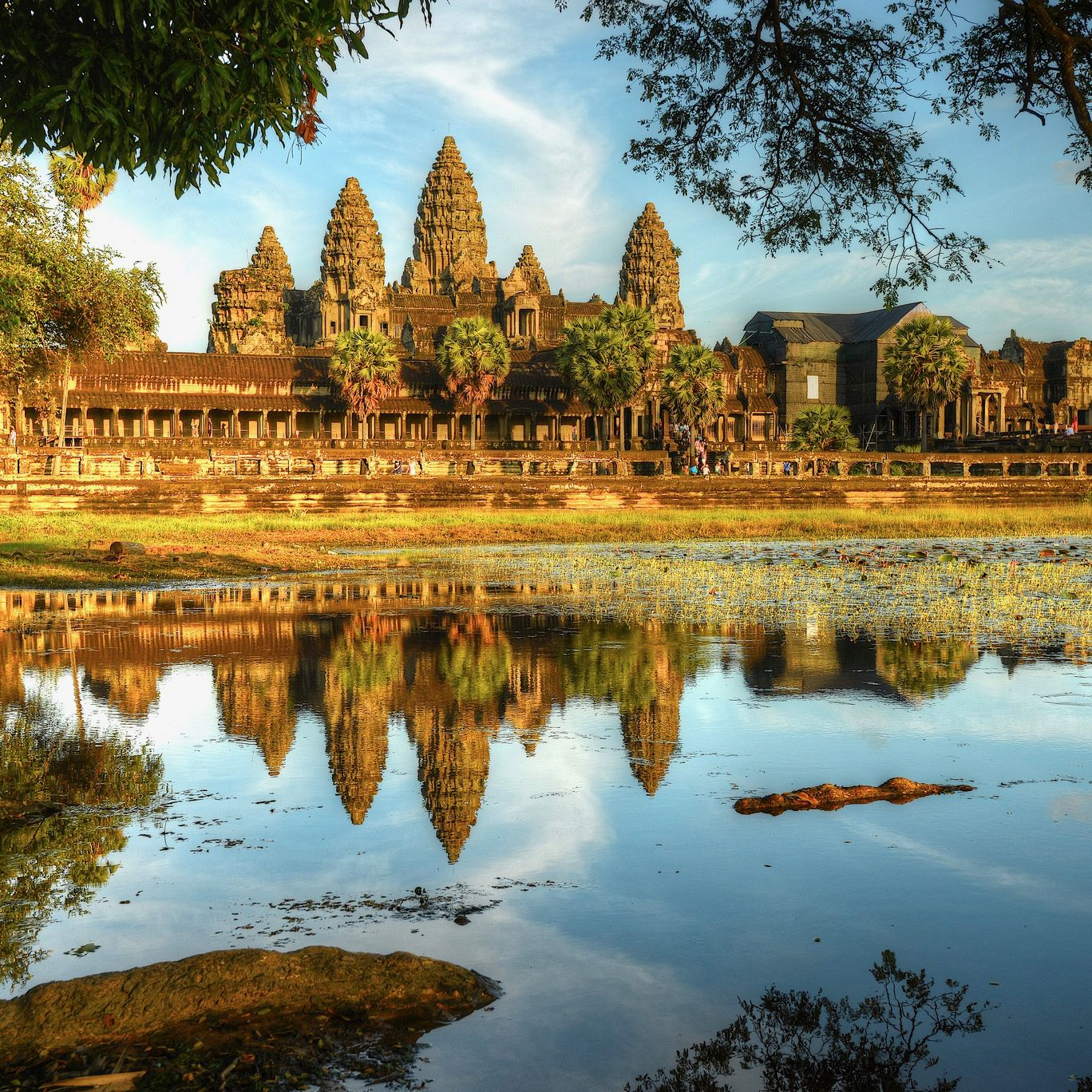 Honeymoon Destinations Rocky Mountains: Cambodia, Angkor Wat, Scooters